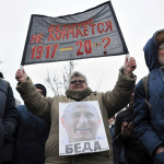 Associates of Russian opposition leader held over protest