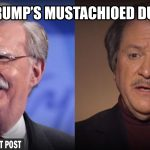 Trump Taps Bolton and diGenova as Replacements