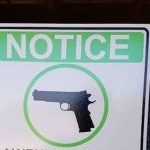 Restaurant's New Sign Has Gun Control Supporters Up In Arms