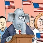 Democrats vs Republicans Brutally Compared in a Single Cartoon