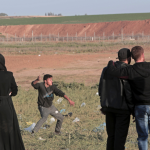 The Latest: Gazan killed in clashes near Israeli border