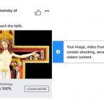 Facebook apologizes for blocking Catholic university's ad of Jesus on the cross