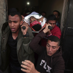 The Latest: Group asks Israeli soldiers to refuse to shoot
