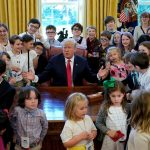 Trump ridicules adults in the media on Take Your Child to Work Day