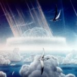 Dino-killing asteroid impact warmed Earth's climate for 100,000 years