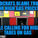 Democrats Blame Trump for High Gas Prices