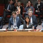 US votes down Arab-backed UN proposal condemning Israeli force in Gaza