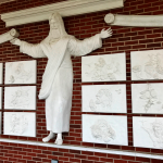 Baptist church's 'Catholic' Jesus statue to find new home