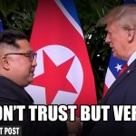 Trump's Real NoKo Strategy