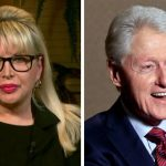 Gennifer Flowers accuses Bill Clinton of sexual harassment before their consensual relationship