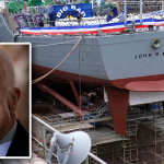 US Navy dedicates destroyer to Sen. John McCain
