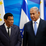 Netanyahu warmly welcomes Philippines' Duterte to Israel