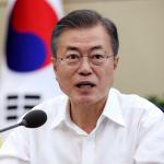 The Latest: South Korea president leaves for North Korea