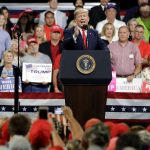 President Trump holds Mississippi campaign rally