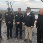 Trump Visits California Wildfire Zone With Newsom: 'We're All Going to Work Together'