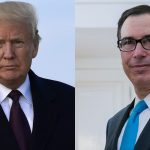 Trump dismisses report of rift with Treasury chief Mnuchin, says he's 'proud of the job being done'