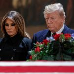 Bush family wants funeral that avoids anti-Trump sentiment: report