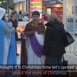 Scottish Mall Relents on anti-Christmas Display as Christians Stage Live Nativity
