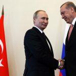 Putin, Erdogan discuss Syria in Kremlin meeting