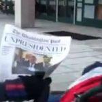 Fake News Washington Post Announces Trump Has Resigned