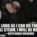 The Personality Cult of Ginsburg — The Patriot Post