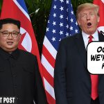 Trump's NoKo/China Walkout Strategy