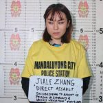 Chinese woman faces deportation after throwing soybean pudding at Philippine police officer