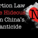 "NY Abortion Law ""More Hideous"" Than China's Infanticide"