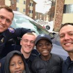 Michigan police officers drive 9-year-old boy to school, surprise him with birthday cake