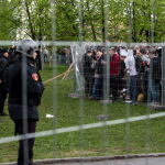 Watchdog group counts 12 arrests at Russia cathedral protest