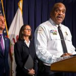 Chicago officer in critical condition after being shot, police commissioner decries gun violence