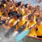 Chinese take to the seas in annual dragon boat races