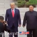 History Made, President Trump First President To Step Foot In North Korea