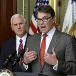 Rick Perry Admits Humans Part of Climate Change Problem