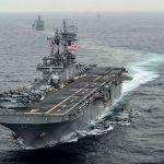 U.S. Navy 'Destroyed' Iranian Drone in Strait of Hormuz