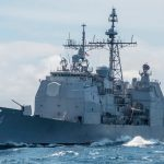 US warship crosses through Taiwan Strait after China says US using 'power politics'