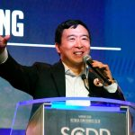 Andrew Yang proposes 'giant space mirrors' to tackle climate change