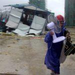 Typhoon Lekima strikes China's east coast, kills at least 18