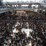 Hong Kong International Airport cancels all flights, China compares protest to 'terrorism'