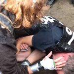 Antifa Protesters Mace, Beat Elderly Man Unconscious