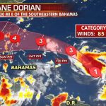 Trump Mulls Issuing Evacuation Orders Ahead of Hurricane Dorian