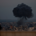 Israel Defense Forces strike Gaza after rockets target southern Israel
