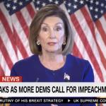 Pelosi Announces Impeachment Inquiry Into President Trump