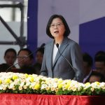 Taiwan president rejects China's offer of 'one country, two systems'