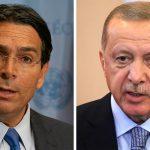 Israel's UN ambassador condemns Erdogan's support of terrorism