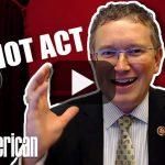 Rep. Thomas Massie: Congress Quietly Reauthorizes Patriot Act