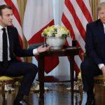 Trump & Macron Trade Barbs Over NATO, Champagne, and Cheese