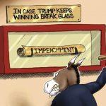 House Democrat's Sham Impeachment of President Trump in 9 Cartoons