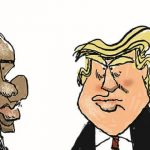 """Trump Versus Obama on Being a """"Russian Asset"""" Summed Up by One Cartoon"""
