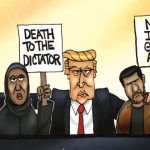 President Trump Versus the Democrats on 'Dealing With Iran' Brutally Summed Up by a Single Cartoon